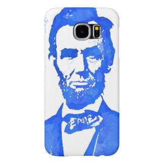 Abraham Lincoln Pop Art Portrait Samsung Galaxy S6 Cases