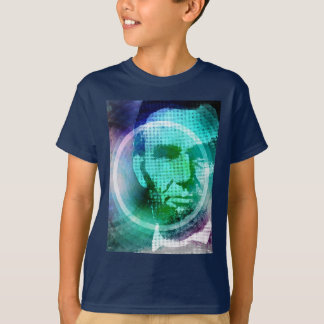 Abraham Lincoln Pop Art T-Shirt