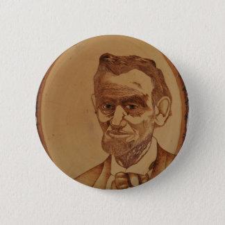 Abraham Lincoln Portrait 2 Inch Round Button
