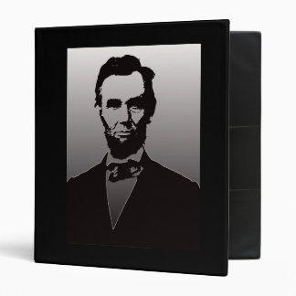 Abraham Lincoln Portrait Binder