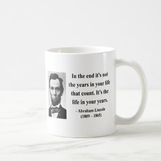 Abraham Lincoln Quote 2b Coffee Mug