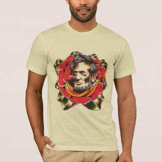 Abraham Lincoln Rose T-Shirt