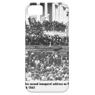 Abraham Lincoln second inaugural address Washingto iPhone 5 Cover