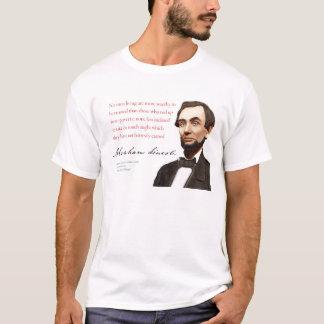 "Abraham Lincoln Shirt #17 ""Self-Made Men"""