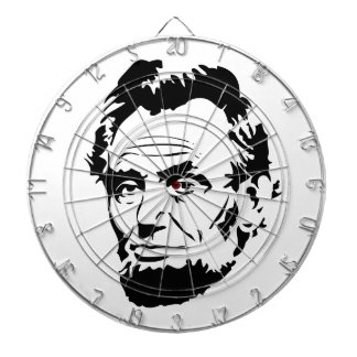 Abraham Lincoln Sketch Dartboard
