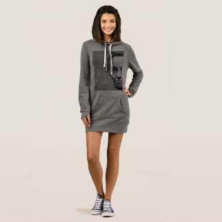 Abraham Lincoln Sweatshirt Dress - Abe Is My Babe