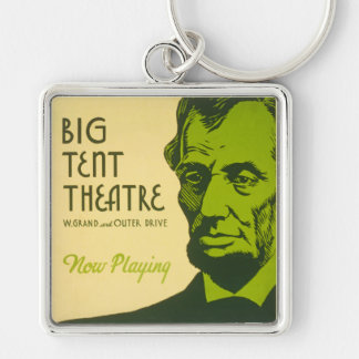 Abraham Lincoln The Great Commoner Keychain