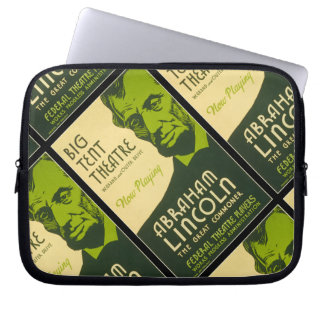 Abraham Lincoln The Great Commoner Laptop Computer Sleeve