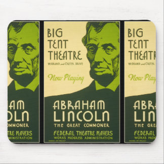 Abraham Lincoln The Great Commoner Mouse Pad