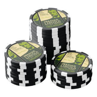 Abraham Lincoln The Great Commoner Poker Chips