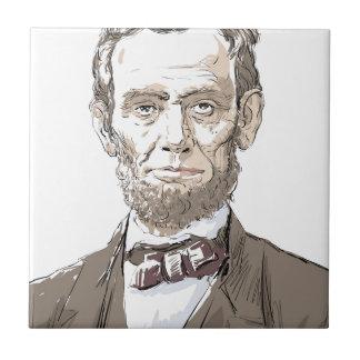 Abraham Lincoln Tile