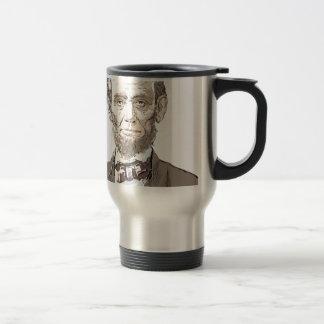 Abraham Lincoln Travel Mug