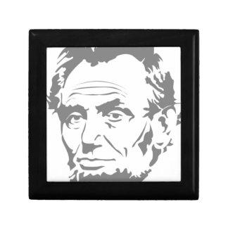 Abraham Lincoln Trinket Boxes