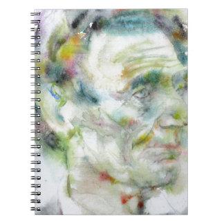 ABRAHAM LINCOLN - watercolor portrait Notebooks