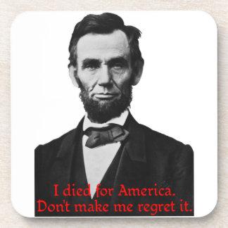 Abraham Lincoln's American Pride Coaster