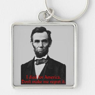 Abraham Lincoln's American Pride Keychain