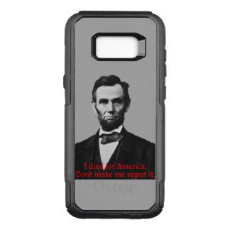 Abraham Lincoln's American Pride OtterBox Commuter Samsung Galaxy S8+ Case