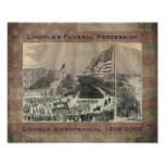Abraham Lincoln's Funeral Procession Poster