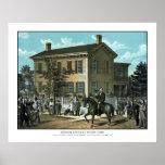Abraham Lincoln's Return Home Poster