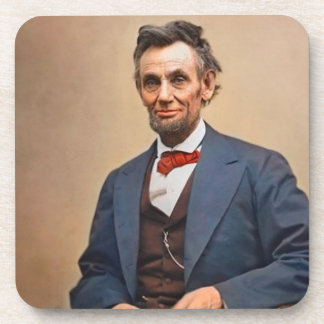 Abraham Lincolon Beverage Coaster