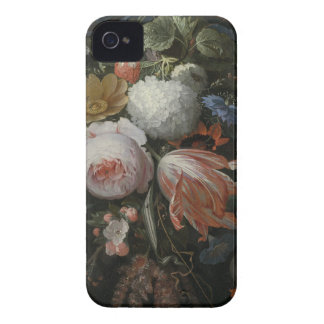 Abraham Mignon A Hanging Bouquet of Flowers probab Case-Mate iPhone 4 Cases