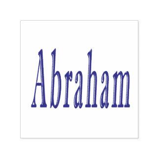 Abraham, Name, Logo, Self-inking Stamp