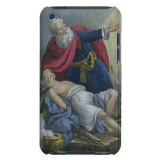 Abraham Offering Up his Son Isaac, from a Bible pr Barely There iPod Cover