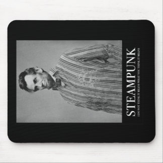 Abraham Steampunk Mouse Pad