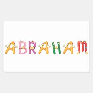 Abraham Sticker
