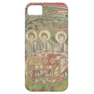 Abraham with the angels (mosaic) iPhone 5 case