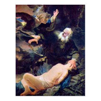 Abraham's Sacrifice Post Card