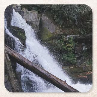 Abrams Falls Square Paper Coaster