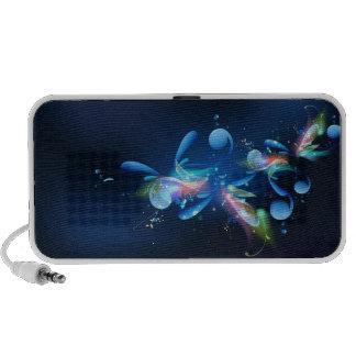 Abrégé sur bleu haut-parleur mobile