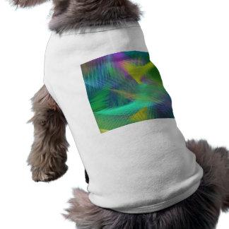 Abrégé sur gai couleur d'amusement vêtement pour chien