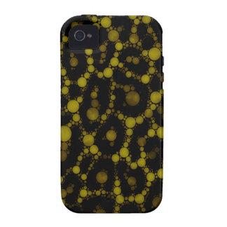Abrégé sur jaune mol guépard coque Case-Mate iPhone 4