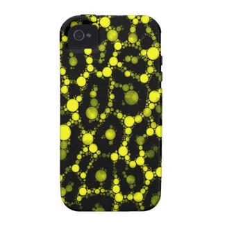 Abrégé sur noir jaune guépard étui vibe iPhone 4