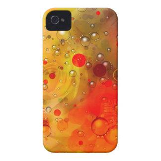 Abrégé sur rouge audacieux et chic aquarelle de coques iPhone 4 Case-Mate