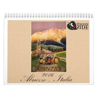 Abruzzo - Italia Calendar
