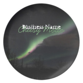 ABS Aurora Borealis Streamer Party Plate