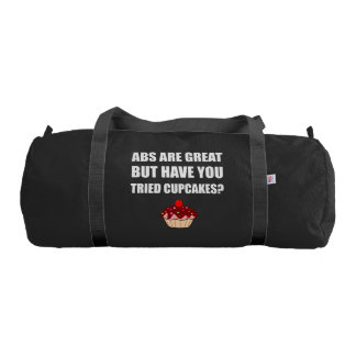 ABS Great Tried Cupcakes Gym Bag