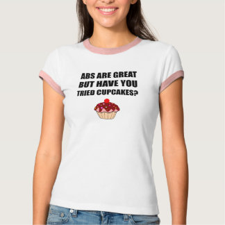 ABS Great Tried Cupcakes T-Shirt