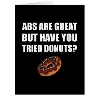 ABS Great Tried Donuts Card