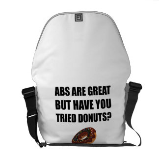 ABS Great Tried Donuts Courier Bags