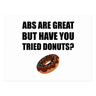 ABS Great Tried Donuts Postcard