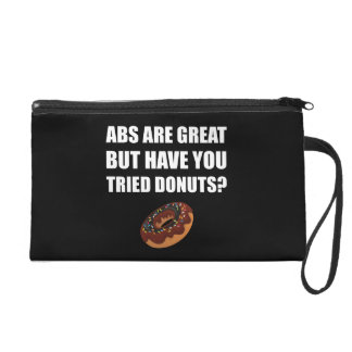 ABS Great Tried Donuts Wristlet Purse