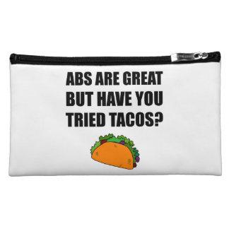 ABS Great Tried Tacos Makeup Bag