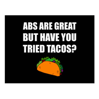 ABS Great Tried Tacos Postcard