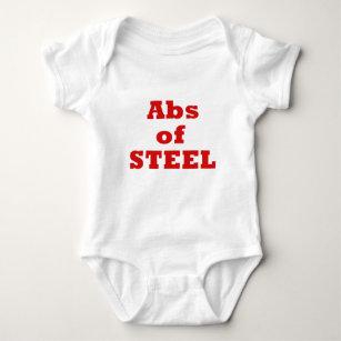 Abs of Steel Baby Bodysuit