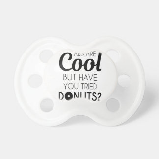 Abs or Donuts Pacifier