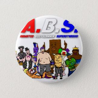 ABS WRESTLING!!! 2 INCH ROUND BUTTON